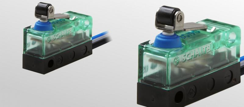 Snap-action switches, S870 - Snap-action switches, S870; SPDT (Form C) snap-action switch with 3 terminals