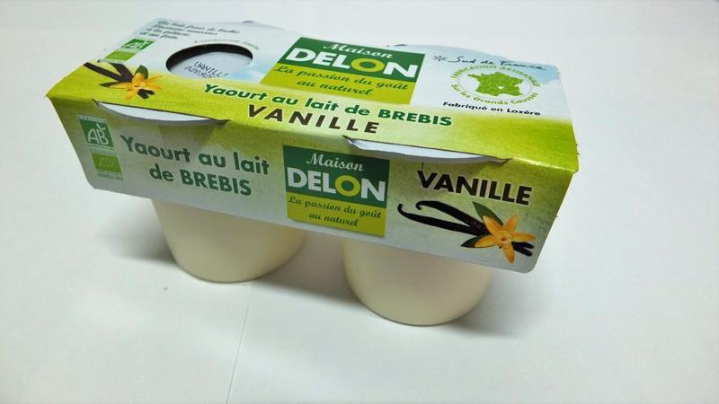 YAOURT AU LAIT DE BREBIS BIO VANILLE (2 X 120 GRS) - Produits laitiers