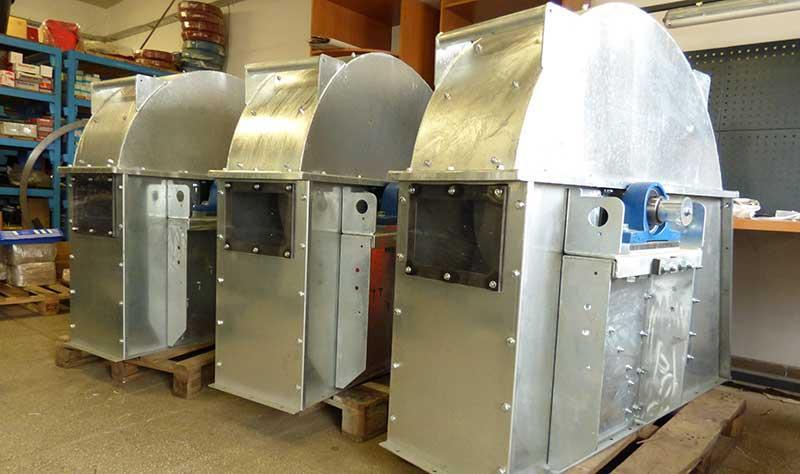 Wentylatory przemysłowe -