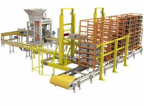 Equipment for concrete plants