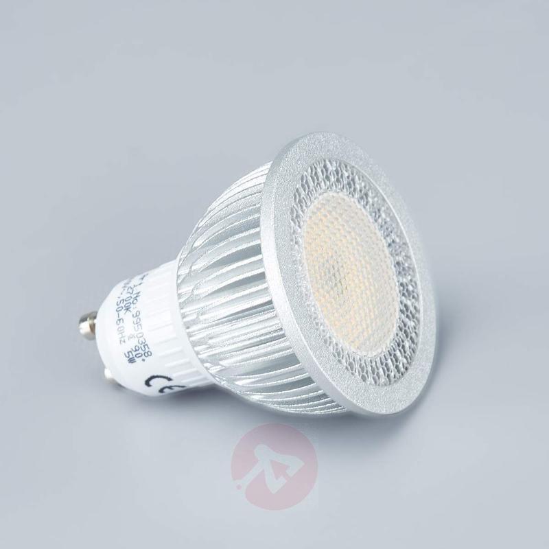 Chrome LED spotlight Lisara in 3 piece set - Recessed Spotlights