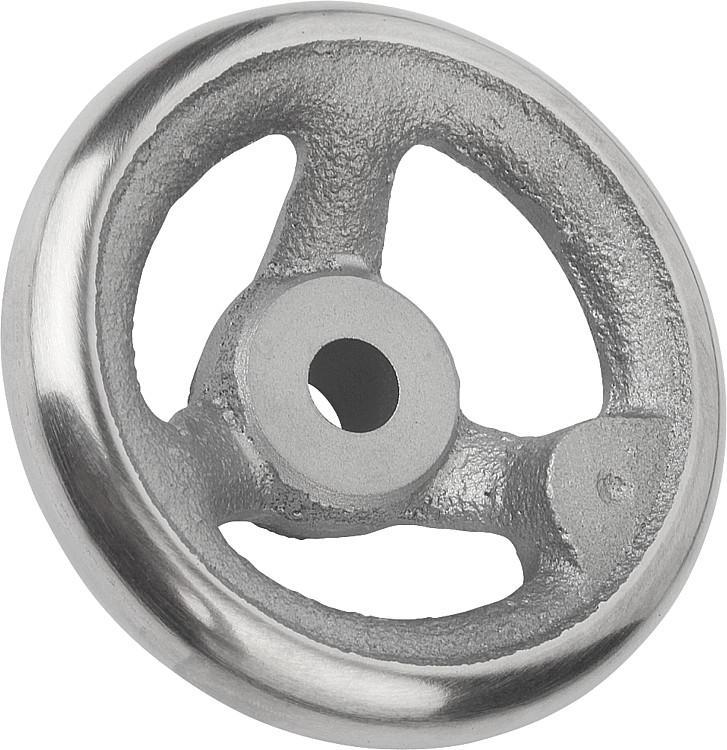 Handwheels gray cast iron DIN 950, without machine handle, metric - K0671 Metric