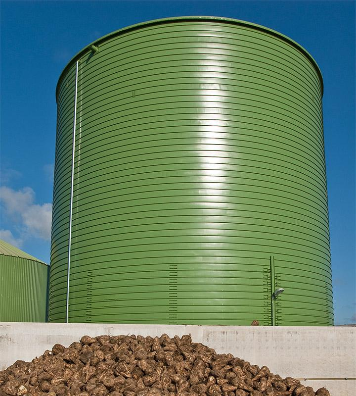 Lipp Betavator Sugar Beet Silo - LIPP TANKS