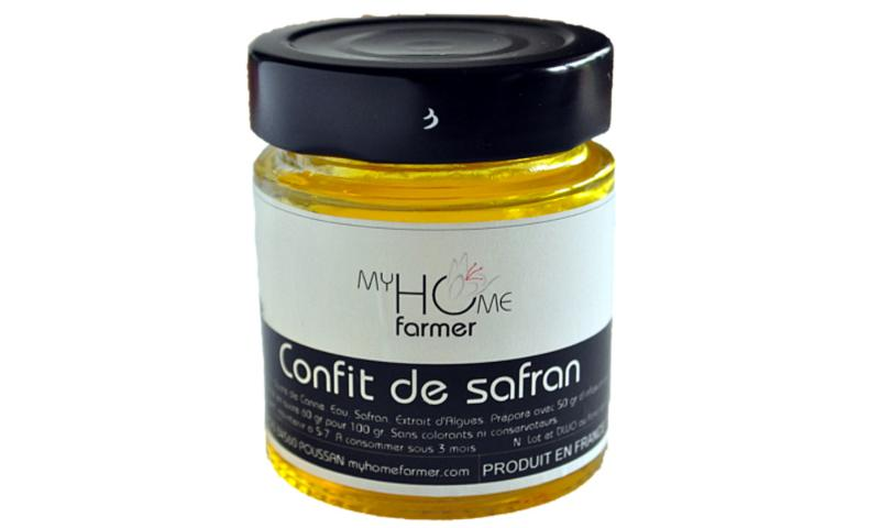 CONFIT DE SAFRAN - Épicerie sucrée