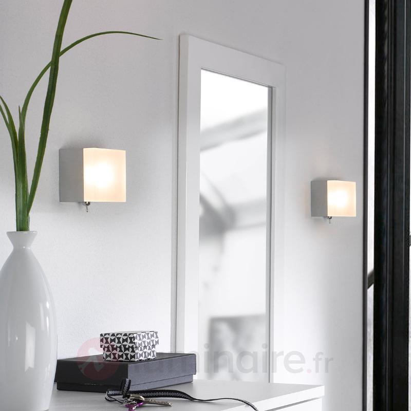 Applique LED Tetra avec interrupteur - Appliques LED