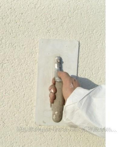 Çimentolu perlit esaslı hafif sıva