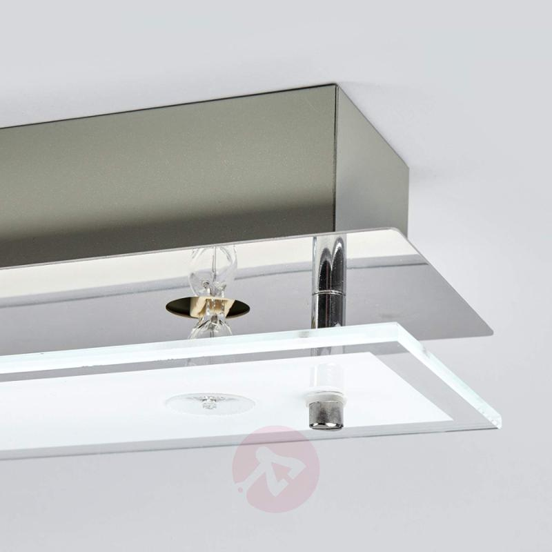 Levy - glass LED ceiling lamp with G9 lamps - indoor-lighting