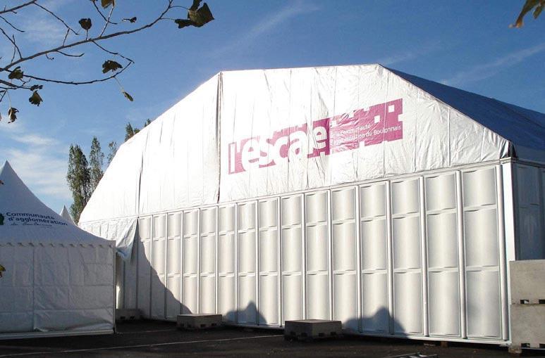 Structures grande hauteur - Systèmes de construction démontable - Tentes évènementielles