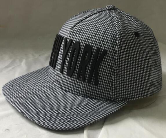 NEW YORK moda snap de volta o chapéu -