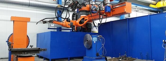 Robot welding -