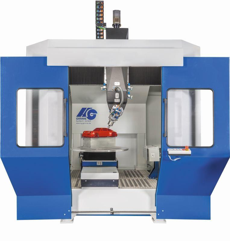 HG 5-axis Rotary System RT-F 1400 for processing plastics