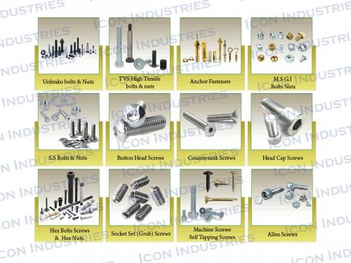 Brass Screw Nuts and Bolts - Brass Screw Nuts and Bolts