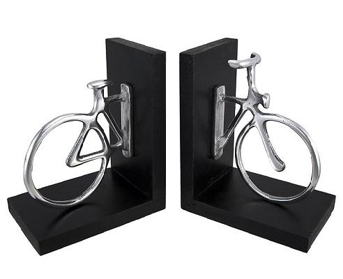 Aluminum Bicycle Bookend