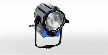 Halogen spotlights - ARRI True Blue T5 manual, black, bare ends