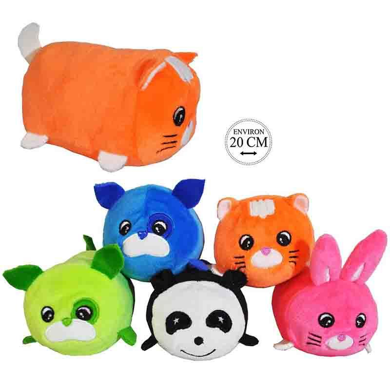 ANIMAUX GRODOU® 20CM  - PELUCHES