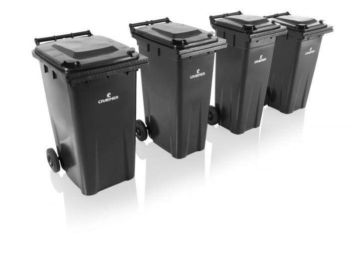 Conteneurs à déchets MGBneo 120 l, 140 l, 180 l, 240 l - Conteneurs à déchets, HPDE, DIN EN 840, RAL-GZ951/1 (GGAWB), 2000/14/EG, MGBneo