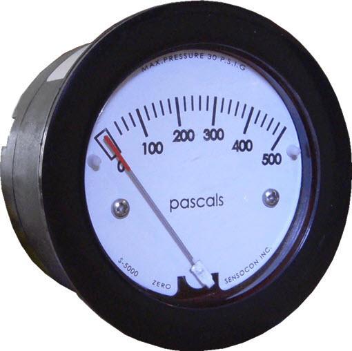 Miniature Low-Cost Differential Pressure Gauge - Sensocon Series S-5000