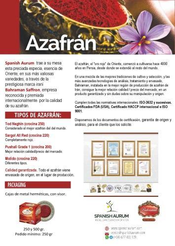 Azafrán  - Neghin, Sargol o Pushali
