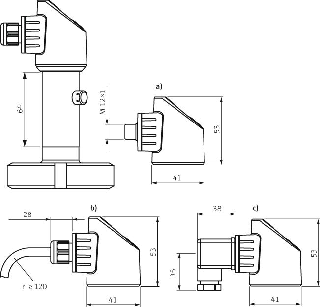 Ceraphant PTP33B - Remplace PTP35 - Pressostats et capteurs de pression