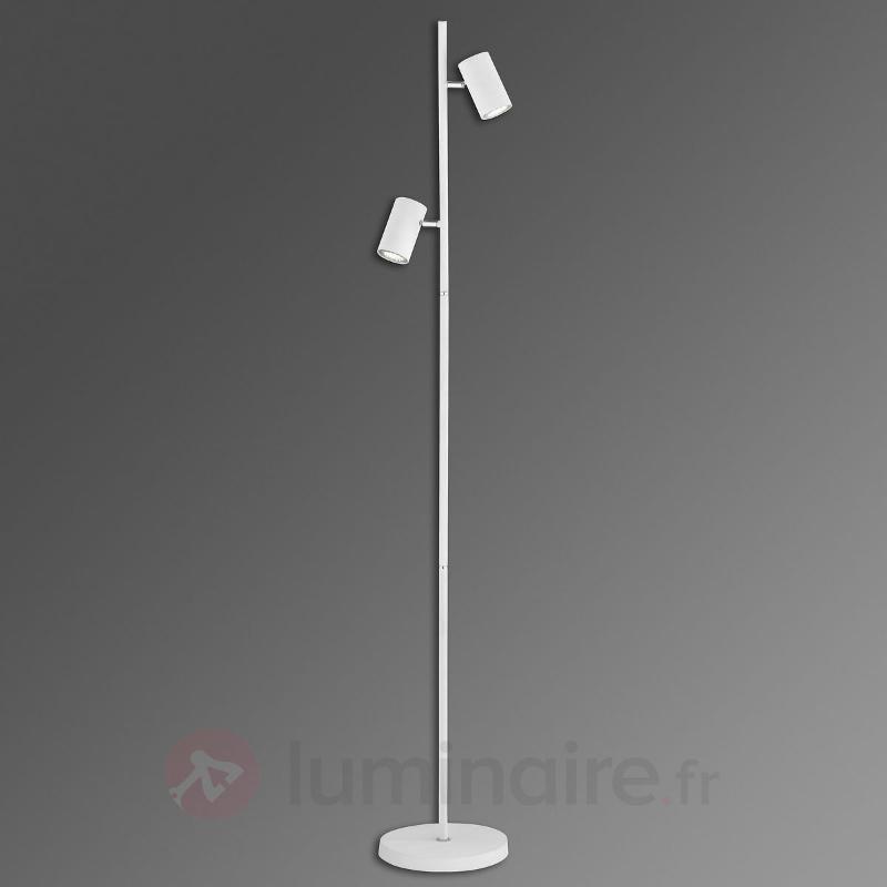 Lampadaire Mia avec deux spots pivotants - Tous les lampadaires