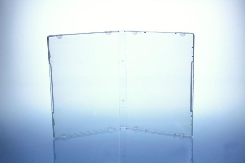 Multimediastoragebox - 14 mm - transparent - Multistoragebox