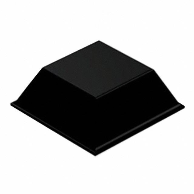 """BUMPER SQU 0.81""""L X 0.81""""W BLK - 3M SJ-5023-BLACK"""