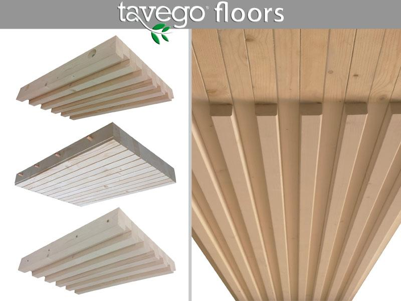 Solai strutturali ecosostenibili  in legno