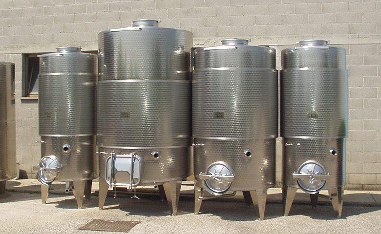 Serbatoi di termocondizionati - Vino