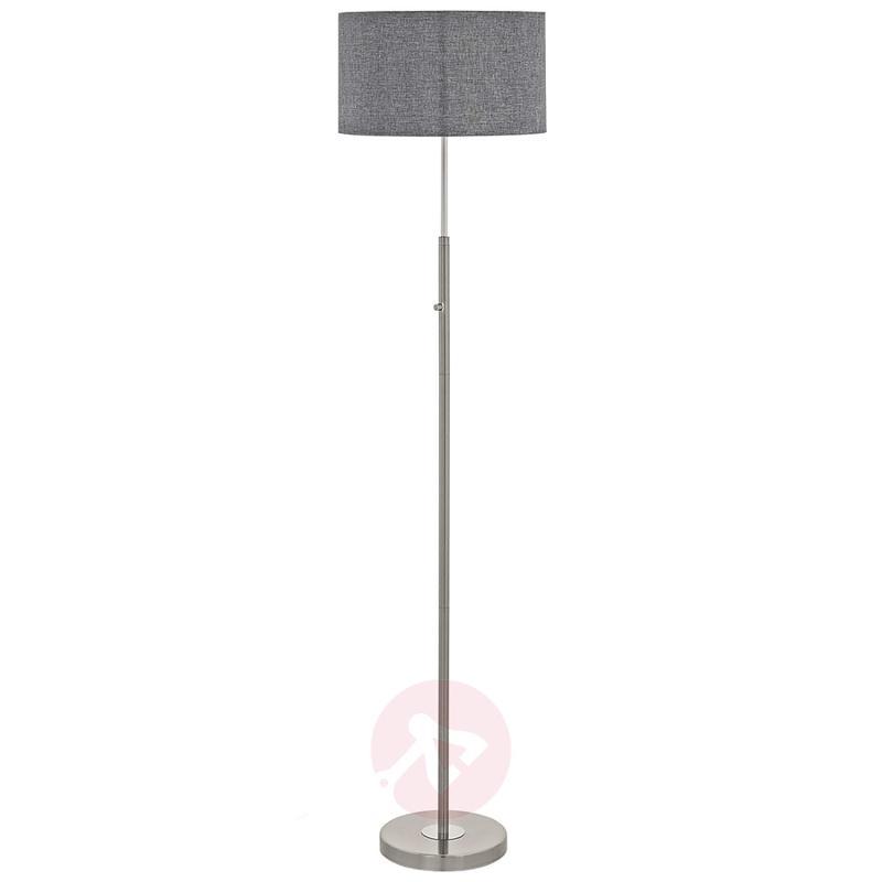 Fabric floor lamp Romano with LED light, indoor-lighting, LIGHTS.CO ...