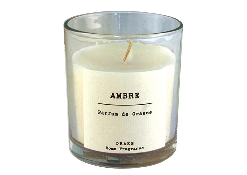 BOUGIE PARFUMÉE - AMBRE - Collection Vintage 100% Végétale