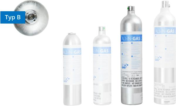 Refrigerants - single gas mixtures