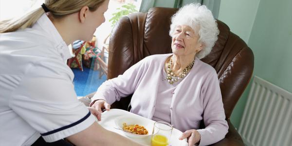 Livraison repas à domicile personne agée
