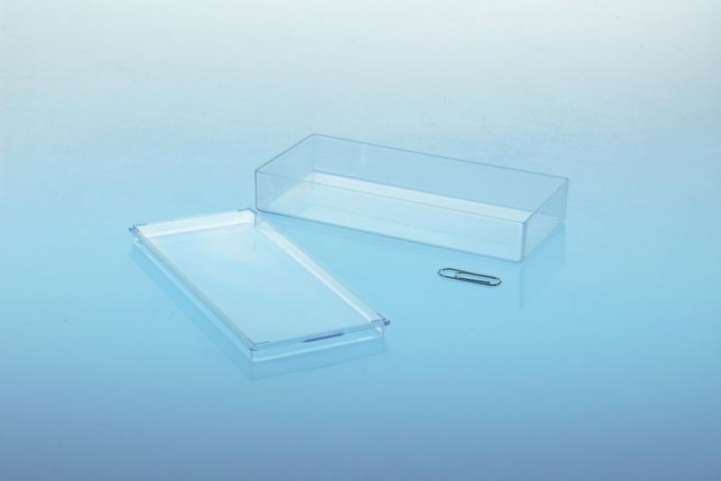 Klarsichtdose - Innenlänge 123 mm - Klarsichtdosen