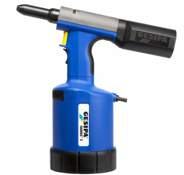 Taurus 3 (Hydro-pneumatic blind rivet setting tool) - The pneumatic-hydraulic blind rivet setting series