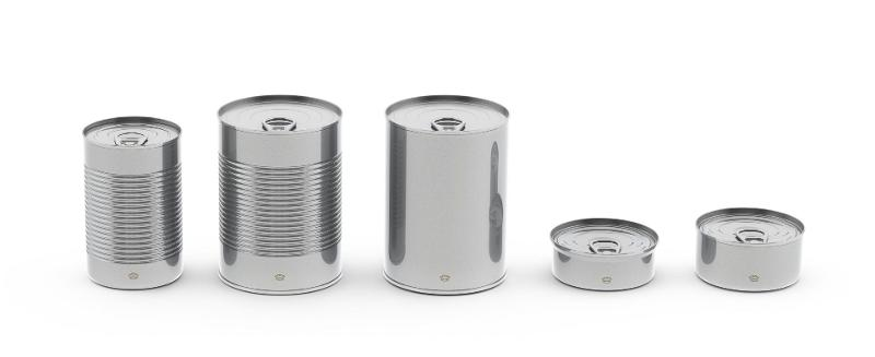 Food Cans - Round Cans