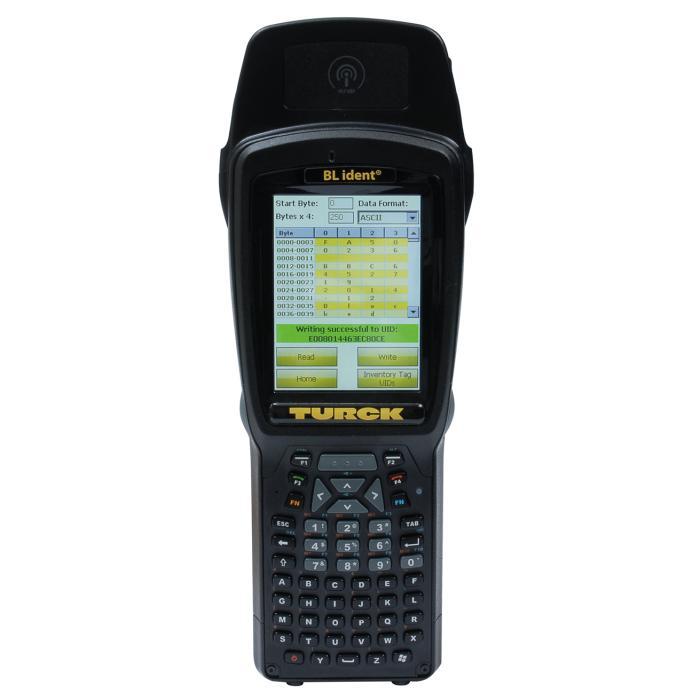Identifikationssystem - Handheld HF/UHF/Barcode