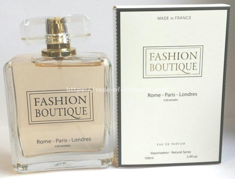 Fashion boutique (Rome - Paris - Londres) - Eau de Parfum für Damen, Floral - Aldehyd, made in France, Edp 100 ml