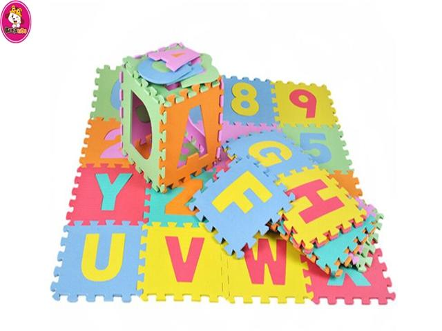 cheap eco-friendly EVA foam baby  playmat -  cheap eco-friendly EVA foam baby interlocking playmats of alphabets numbers