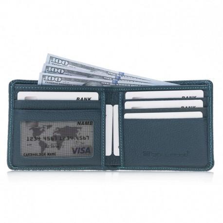 Pier Man Wallet FLB Series - PW FLB19 Turqoise
