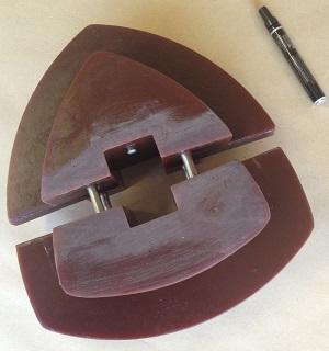 Etoile de crible caoutchouc ou polyuréthane - Fabricant français d'étoile de crible