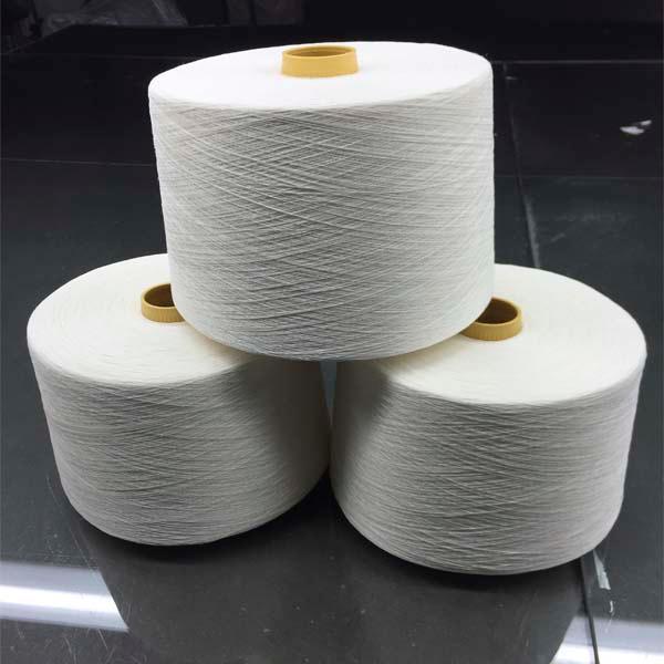 Long hemp half bleached yarn - 39Nm