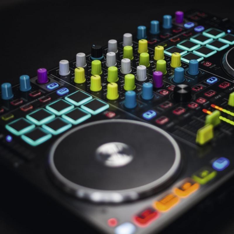 DJ-Zubehör - Reloop Knob Cap Set yellow