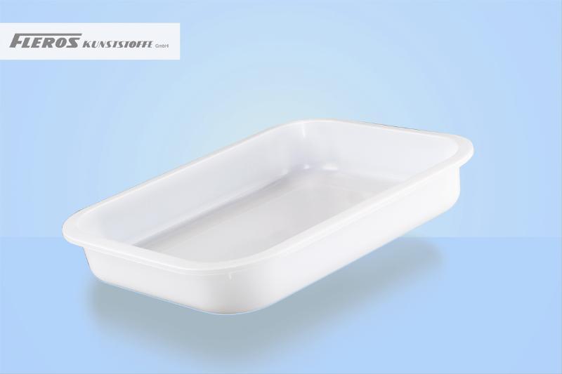 Sealing bowls - FK 3.000 R rectangular bowl, able to seal