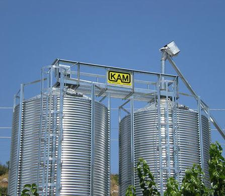Silos for warehousing and storage