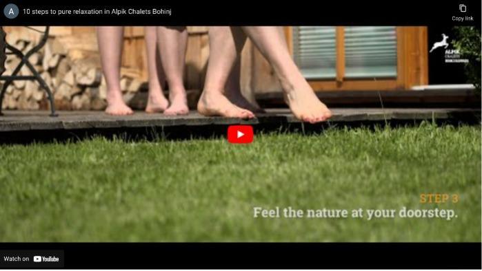 Video - Alpik Chalets - Bohinj - 10 steps to pure relaxation