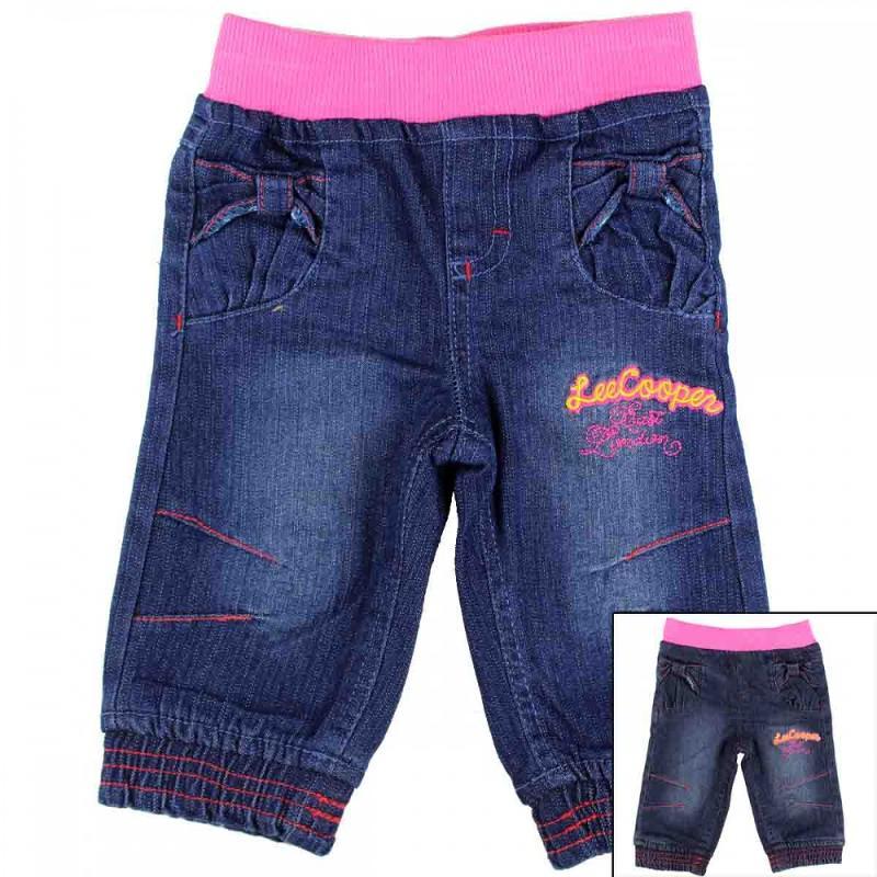 8x Pantalons jeans Lee Cooper du 6 au 24 mois - Vêtement été