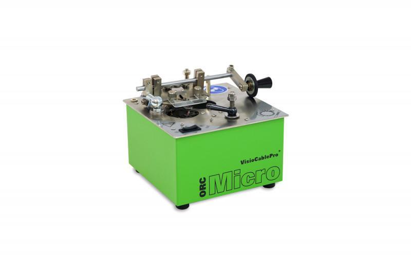 Trancheuse ORC Micro - Pour la découpe en rondelles de couches isolantes sur âmes et de petits câbles