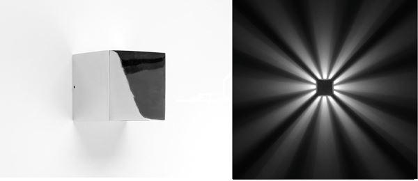 """APPLIQUE """"QUASAR 10"""" LED 360 10,8W 3000K CHROME - Intérieur décoratif"""