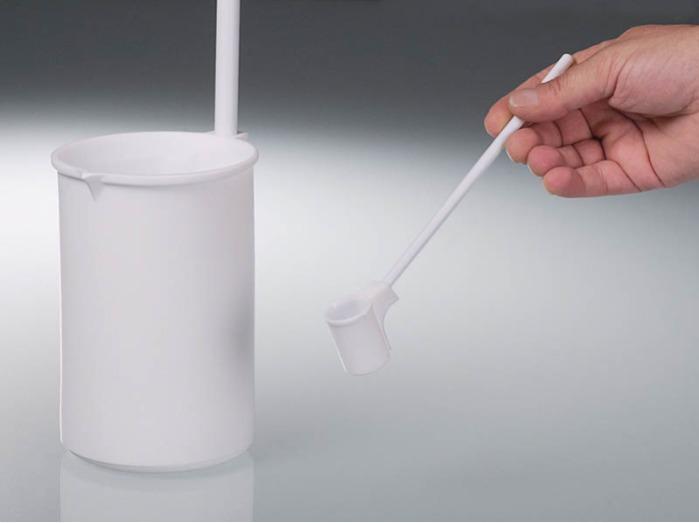 Cuchara de PTFE - Muestreador de líquidos