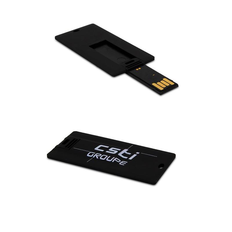 Clé USB Carte Mini Black - Clé USB carte